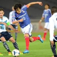 Former Celtic midfielder Shunsuke Nakamura is still going strong at 42 years old for Yokohama FC. | AFP-JIJI