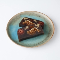 Fruits of labor: Wagashi Asobi fills its 'yōkan' bars with walnuts and whole dried fruits pre-soaked in rum.  | © MIHO