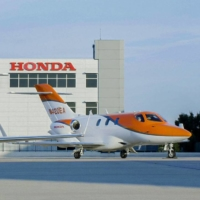 HondaJet became the best-selling small business aircraft in the world for the fourth straight year in 2020. | HONDA MOTOR CO. / VIA KYODO