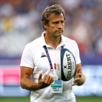 France coach Fabien Galthie, seen in 2019, is among those who tested positive for COVID-19 last week. | REUTERS