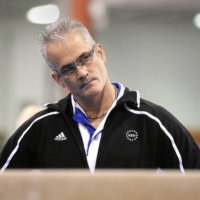 Former U.S. Olympic gymnastics coach John Geddert died by suicide on Thursday after prosecutors filed human trafficking and sexual assault charges against him. | USA TODAY / VIA REUTERS