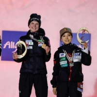 Sara Takanashi finishes third at world ski jumping championships