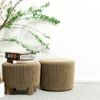 Family-friendly: Corncob, a corrugated cardboard DIY stool kit made by packaging manufacturer Nagae-Siki, was designed by Junichi Ishigaki to be fun projects for families. |