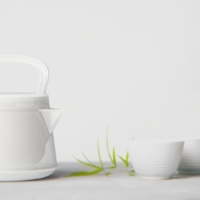 Tea time: The Junen Kyusu is a modern plastic Japanese-style teapot designed by Taikan Hoshino and made by Suzuki Chemical Industry, a maker of plastic parts for the automotive industry. |