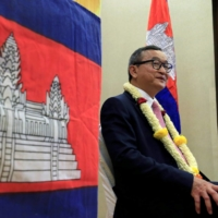 Cambodian opposition leader Sam Rainsy  | REUTERS