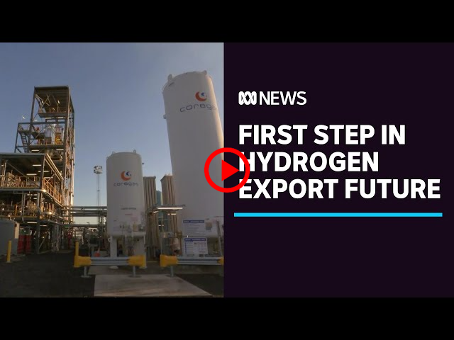 Hydrogen produced from brown coal in Gippsland in Australian first | ABC NEWS (AUSTRALIA)