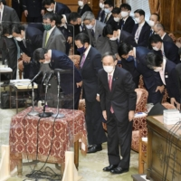 Lower House passes record budget as Suga looks to move on from scandals
