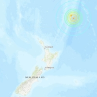 The location of Friday morning's magnitude 8.1 earthquake off New Zealand | U.S. GEOLOGICAL SURVEY
