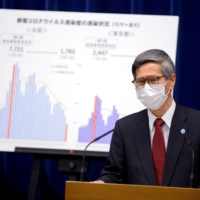 Japan Community Healthcare Organization President Shigeru Omi actively held news conferences to explain to the public the risks of COVID-19 and how to fight against it. | POOL / VIA REUTERS