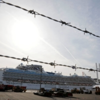 The cruise ship Diamond Princess heralded the start of the coronavirus crisis for Japan when it anchored in Yokohama. | REUTERS