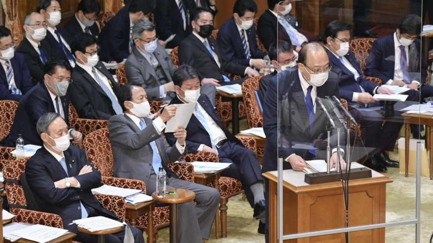 Ethics scandal involving ministry official linked to Suga widens
