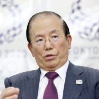 Toshiro Muto, CEO of the Tokyo Olympic and Paralympic Organising Committee, speaks during an interview in Tokyo on Friday.