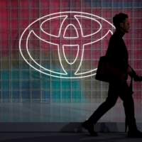 Toyota has so far been largely unscathed by a global shortage of semiconductors thanks to its strategy of maintaining an ample stockpile of chips. | REUTERS