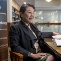 Teresa Cheng, Hong Kong's secretary for justice, speaks during an interview in Hong Kong on Tuesday.  | BLOOMBERG