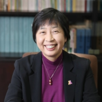 Yumiko Watanabe, director-general of the Child and Family Policy Bureau of the Health, Labor and Welfare Ministry, speaks during an interview. | JUNKO KIMURA-MATSUMOTO