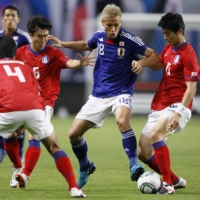 The Samurai Blue have not faced a full-strength South Korean side since their international friendly in Sapporo on Aug. 10, 2011. | KYODO