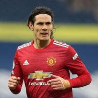 Edinson Cavani has impressed at Manchester United since joining on a free transfer from Paris Saint-Germain in October, scoring seven goals in 25 appearances. | AFP-JIJI