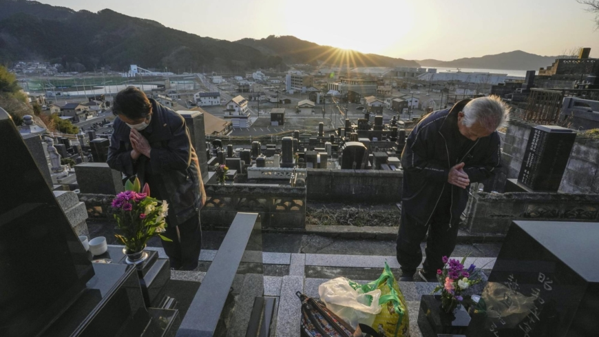 A decade on, Japan remembers those lost in deadly quake and tsunami