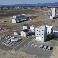 Fukushima Robot Test Field was built on land deemed too risky for housing after the tsunami. | BLOOMBERG