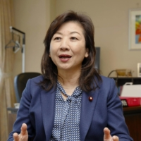 Ex-communications minister Seiko Noda denies she was wined and dined by NTT