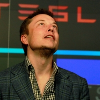 Tesla Motors CEO Elon Musk attends company's initial public offering at the NASDAQ in New York in June 2010. | REUTERS