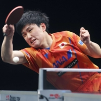 Tomokazu Harimoto and Mima Ito claim singles titles in Doha