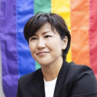 Maki Muraki, head of Osaka-based advocacy group Nijiiro Diversity, says Wednesday's Sapporo ruling on same-sex marriage has huge implications for both the LGBTQ movement in Japan and the nation's reputation around equality. | MAKI MURAKI