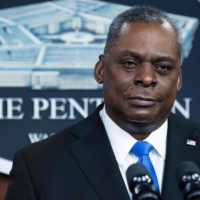 U.S Secretary of Defense Lloyd Austin is in Tokyo for a 'two-plus-two' meeting of defense and foreign ministers. | AFP-JIJI