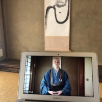 Zen priest Soo Iwayama launched a meditation service called Flying Monk that is available online. | COURTESY OF SOO IWAYAMA