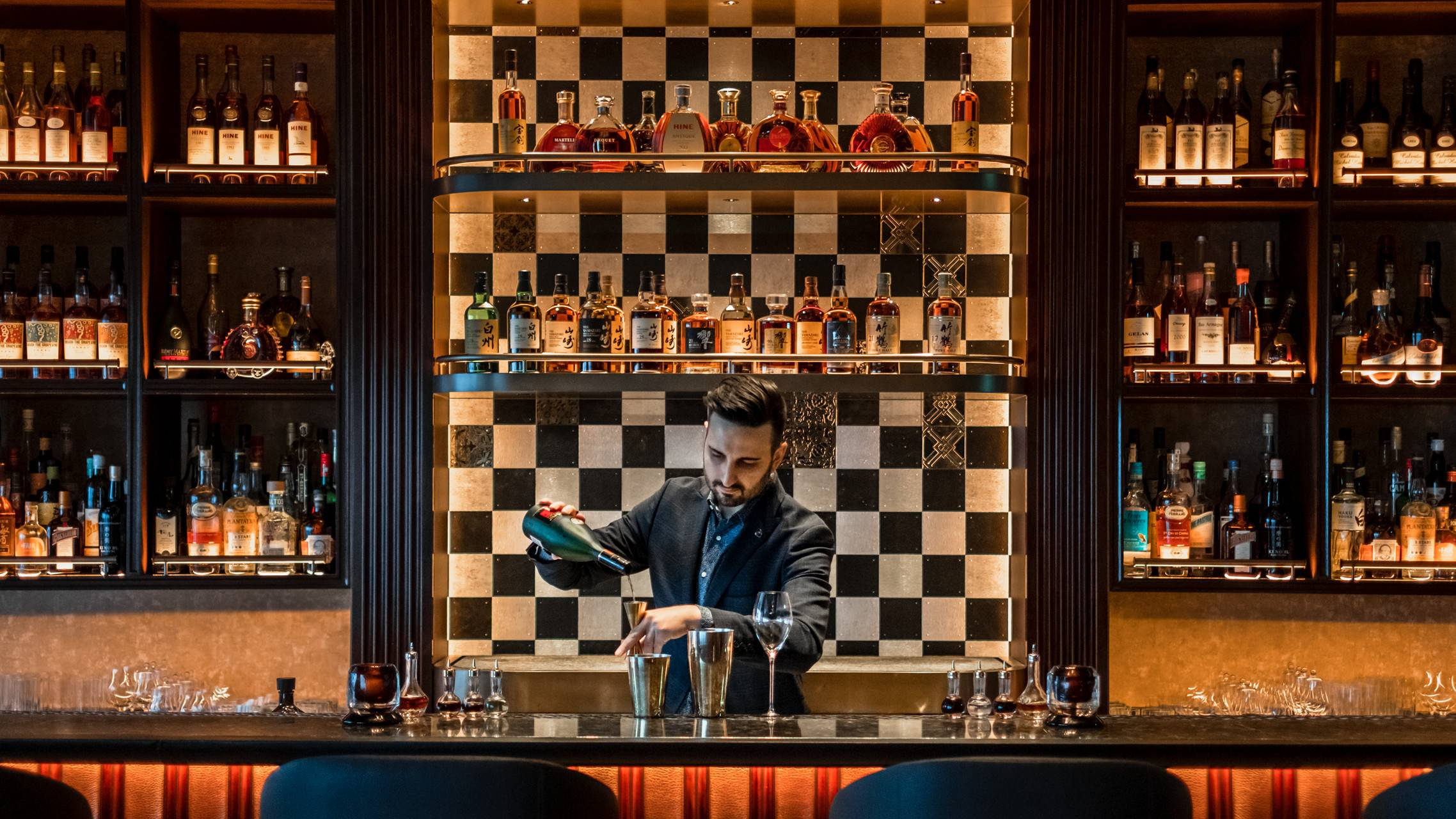 Style and substance: Combining design elements from Paris and Tokyo, Virtu's menu is organized around the seven virtues. | SHINGO KIDO