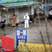 The closed seafood market in Wuhan in January 2020 | REUTERS