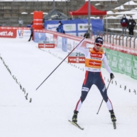 Magus Riiber holds off Akito Watabe to take 35th World Cup win