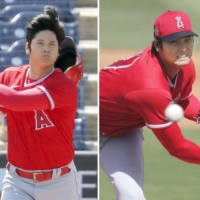 Shohei Ohtani puts on show in dual role as starter and leadoff batter in spring training game