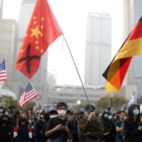 Hong Kong protesters rally in support of the human rights Xinjiang's Uyghurs | REUTERS