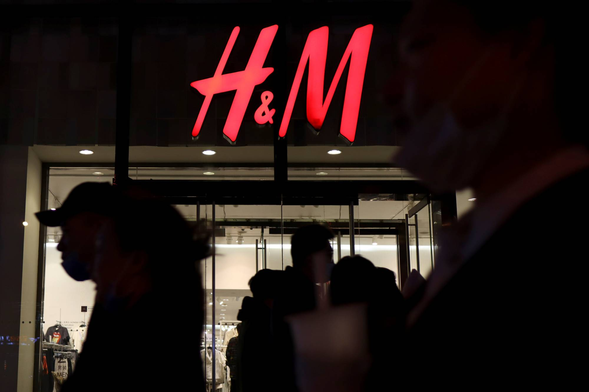 A store of the Swedish fashion retailer H&M at a shopping mall in Beijing on Wednesday | REUTERS