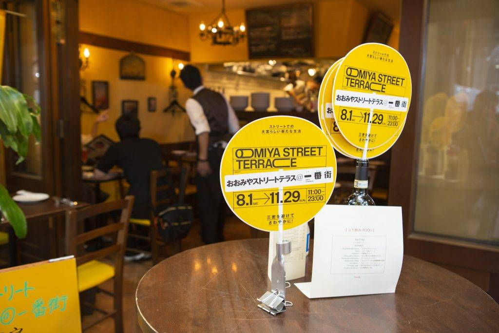 Dismal numbers: According to May 2020 data from Tabelog, only 3.2% of Tokyo's over 130,000 restaurants have a terrace. | COURTESY OF UDCO