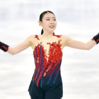 Rika Kihira in second place after short program at world championships