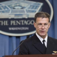 Adm. John C. Aquilino, who is nominated to lead the U.S. Indo-Pacific Command, said Japan's ability to defend itself is vital and it must continue to invest in improvements in its air and missile defense capabilities, as well as other security areas. | AFP-JIJI
