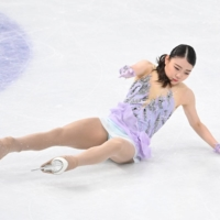 Error-prone Rika Kihira falls to seventh place as Russians sweep podium at worlds