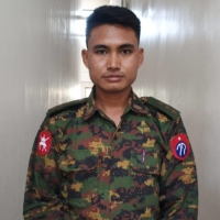 Capt. Tun Myat Aung, a Myanmar soldier who deserted the military to join the anti-coup movement in the country is seen in an undated image. Four officers spoke about life in the feared Tatmadaw, which has turned its guns on civilians again.  | THE NEW YORK TIMES