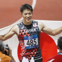 Back from injury, sprinter Ryota Yamagata aims for 'extremely great year'