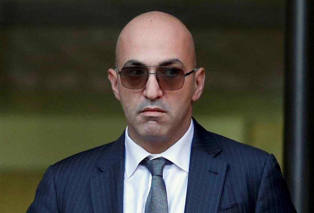 Maltese businessman Yorgen Fenech, who was arrested in connection with an investigation into the murder of journalist Daphne Caruana Galizia, leaves the Courts of Justice in Valletta, Malta, in November 2019. | REUTERS