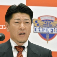 Sako coached the Hiroshima Dragonflies for three seasons beginning in 2014-15. | KYODO