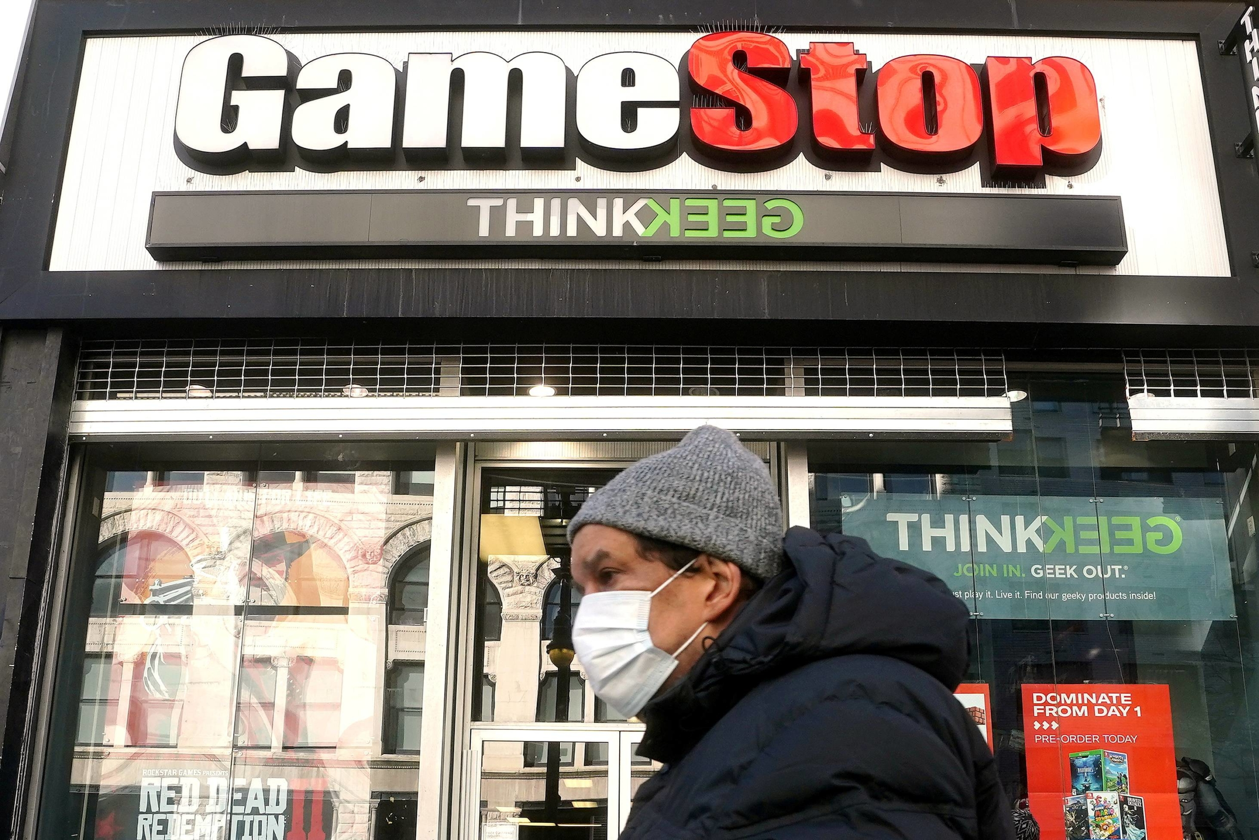 GameStop became the poster child for retail traders looking to rage against the hedge fund elite.  | REUTERS