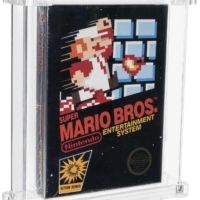 Sealed copy of Super Mario Bros. sets auction record at $660,000