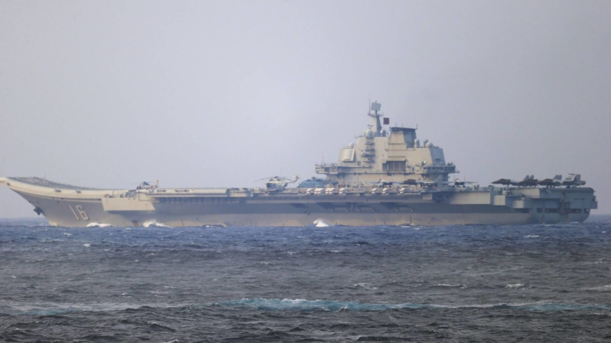 China sends aircraft carrier strike group near Okinawa in message to U.S. and Japan