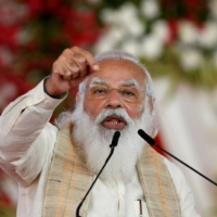 Indian Prime Minister Narendra Modi speaks in Ahmedabad, India, on March 12. | REUTERS