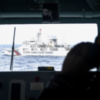 A new law governing the actions of the China Coast Guard is said to stem from Chinese leader Xi Jinping's wish to respond to the needs of national defense and military development.