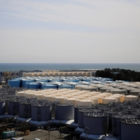 The Fukushima No. 1 plant operator, Tokyo Electric Power Company Holdings Inc., which has accumulated more than 1.2 million tons of treated water, expects to run out of tank storage capacity around the fall of 2022. | REUTERS