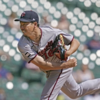 Twins' Kenta Maeda helps hold down Tigers for first win of 2021